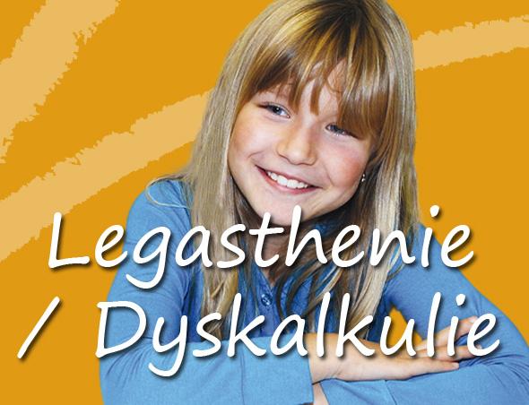 Privates Lernen - Legastenie und Dyskalkulie